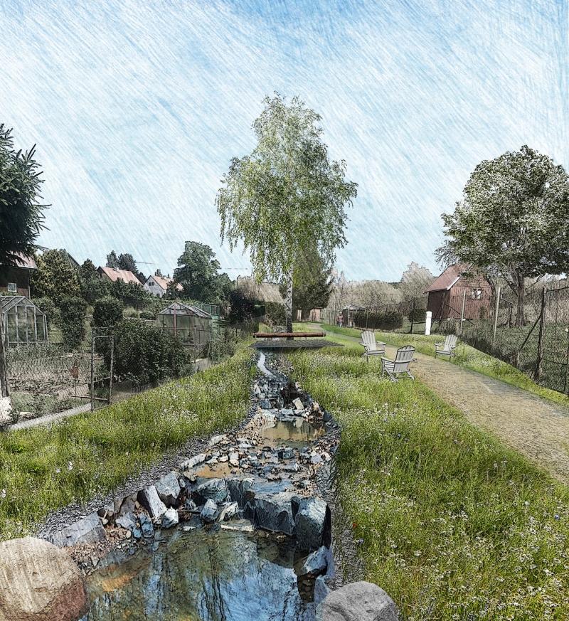 Revitalizace krajiny a vodního toku ve městě