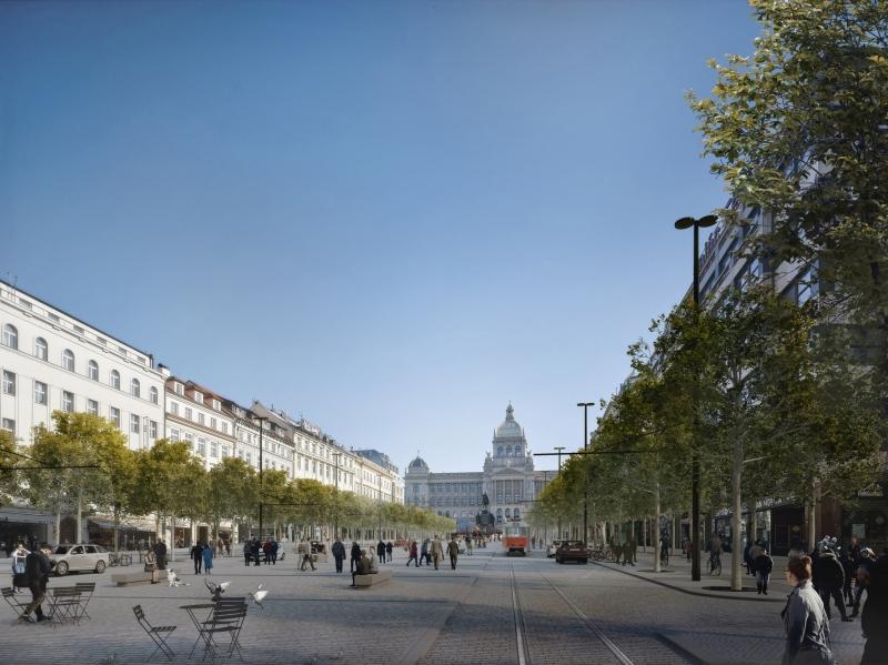 Revitalization of Wenceslas Square