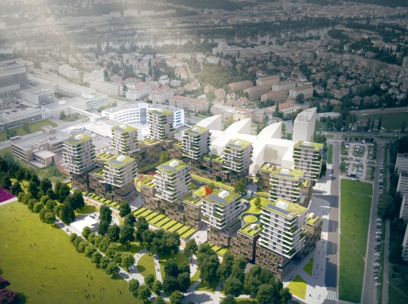 Residential complex Kavčí Hory