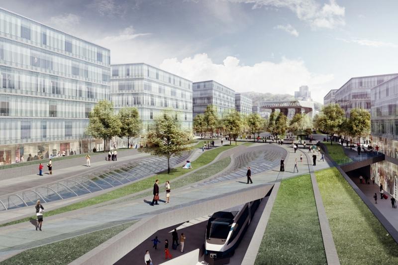 Rozvoj Masarykova nádraží