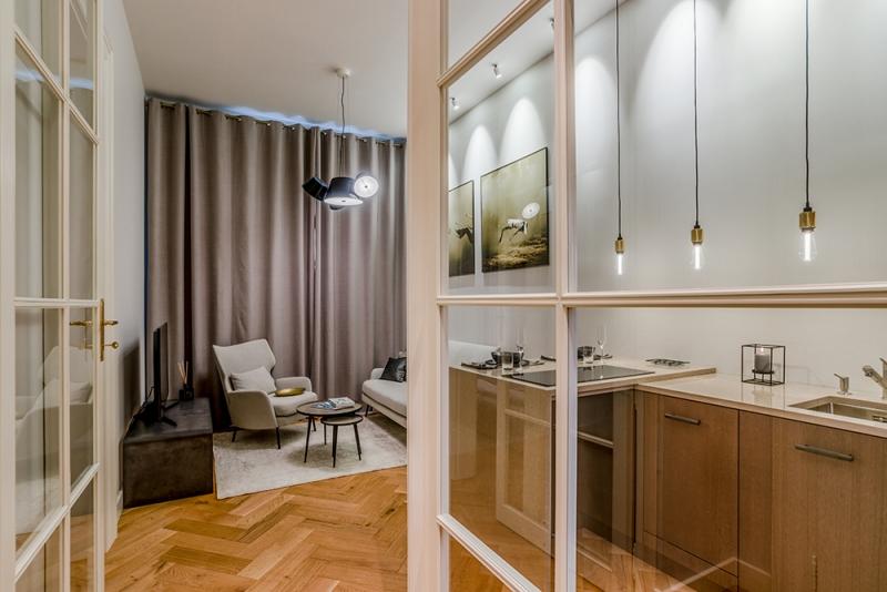 Vzorový byt Palác Dlážděná