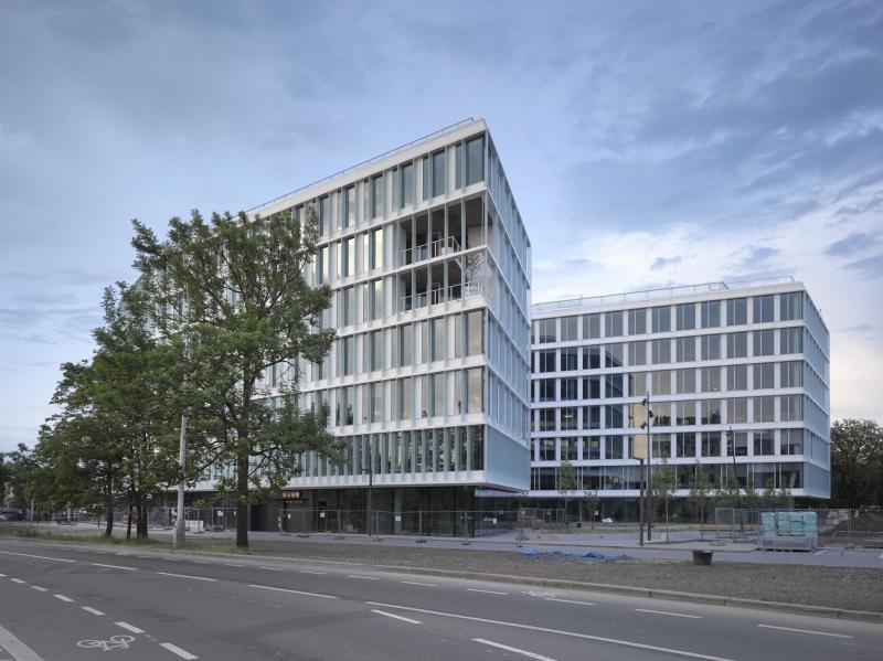 Visionary administrative building