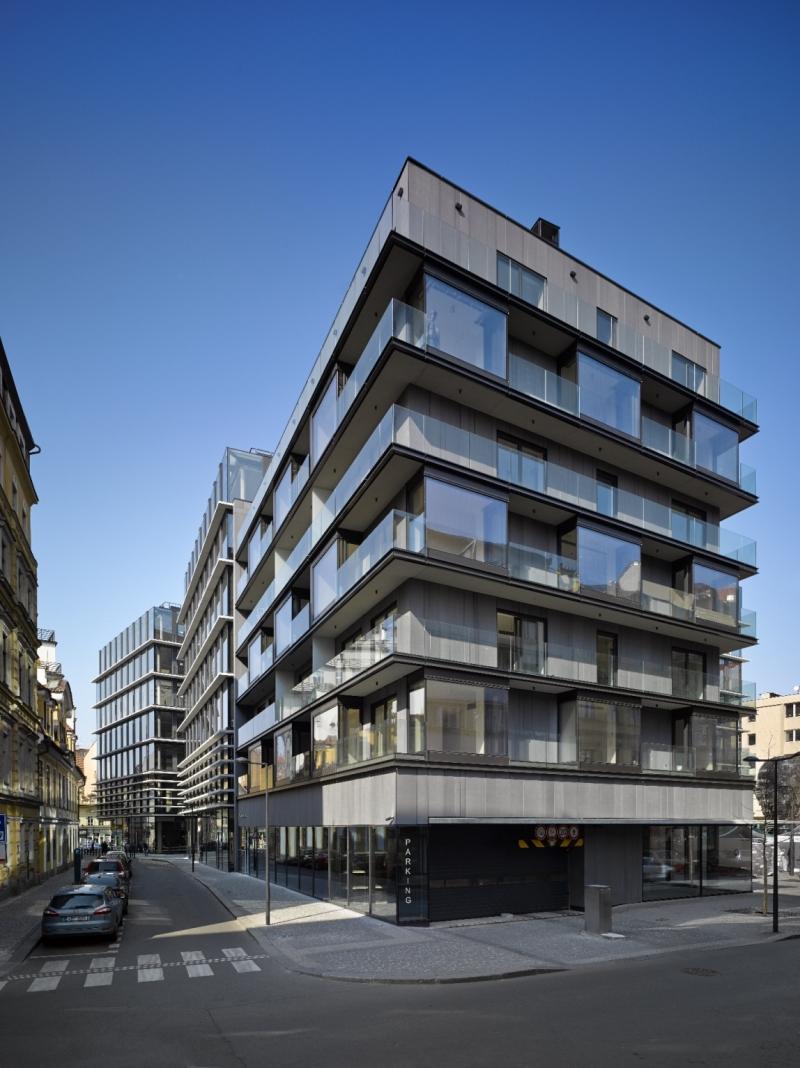 Многоквартирный дом «Quadrio»