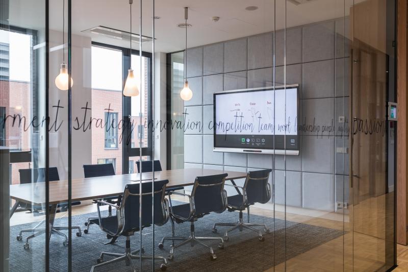 Interiér kanceláří
