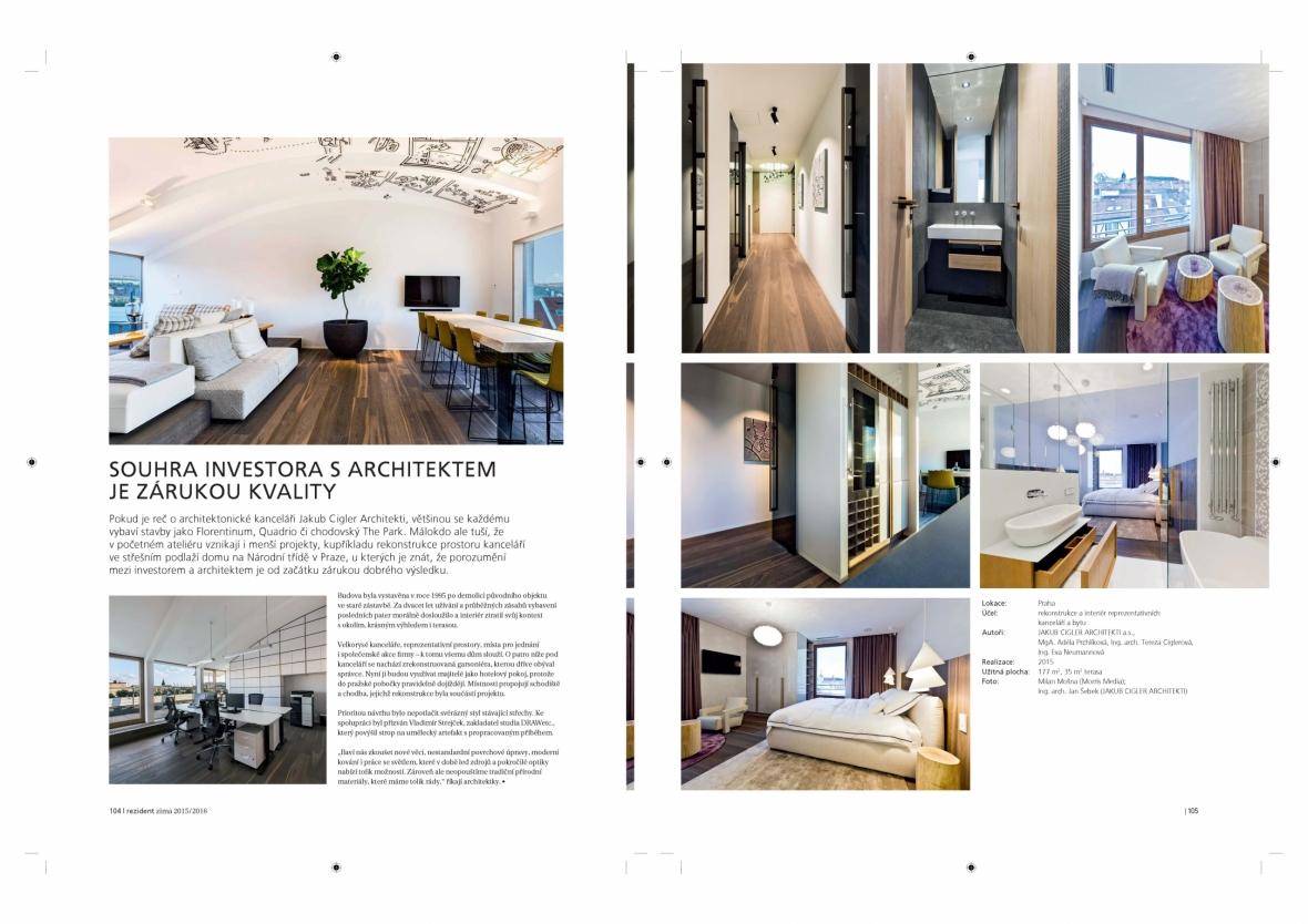 Souhra investora s architektem je zárukou kvality