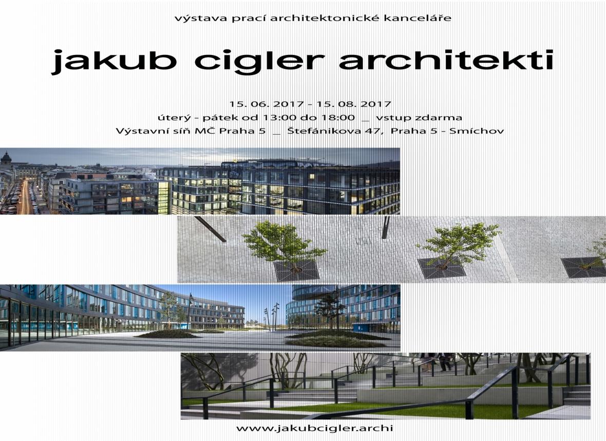 Pozvánka na výstavu prací naší architektonické kanceláře