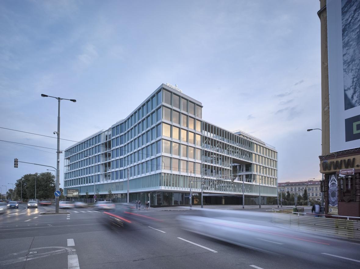 Administrativní budova Visionary