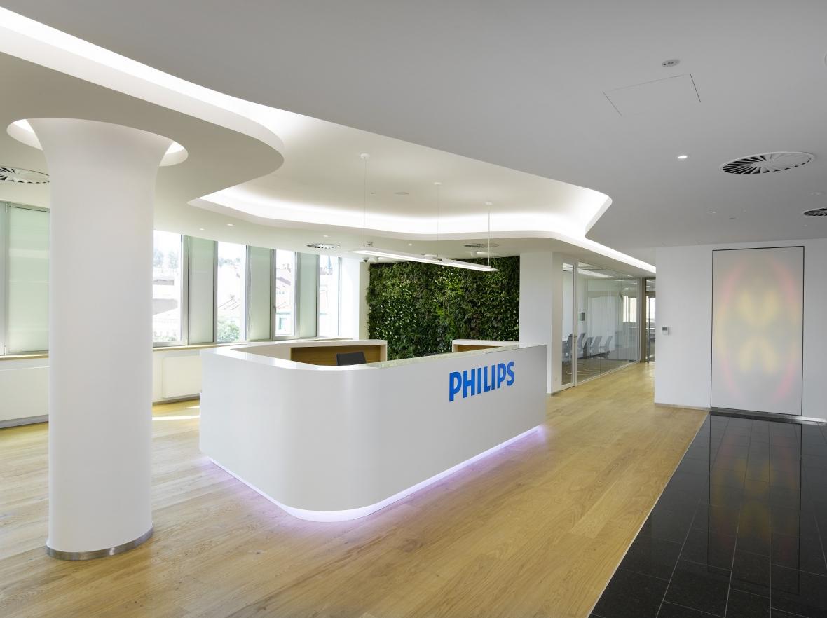 Sídlo společnosti Philips